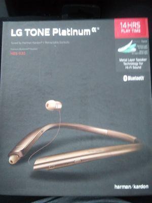 LG Tone Platinum Wireless Headphones for Sale in Denver, CO