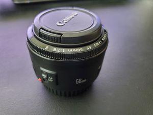 Canon EF 50mm f/1.8 II for Sale in Maricopa, AZ