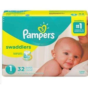 Pampers Swaddlers for Sale in Weehawken, NJ
