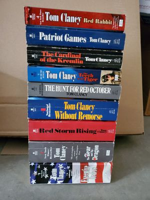 Tom Clancy paperback Book collection for Sale in Turlock, CA
