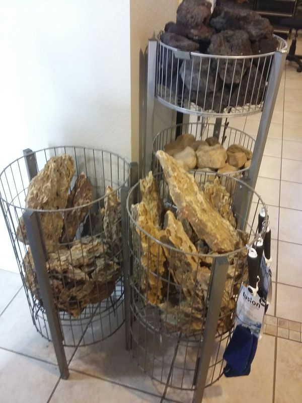 Aquascaping Stone fish shrimp plants for Sale in Orlando ...