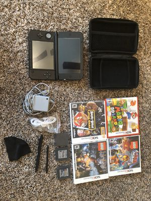NINTENDO 3DS XL + GAMES + ACCESSORIES for Sale in Gilbert, AZ