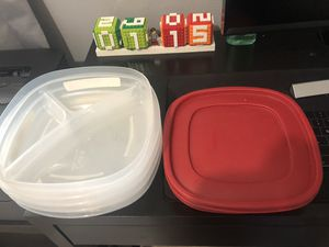 Rubbermaid Food Containers for Sale in San Bernardino, CA