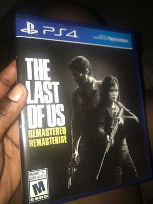 The last of us *PS4 only for Sale in Forney, TX