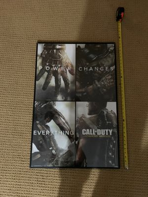 Framed call of duty posters for Sale in Fort Pierce, FL