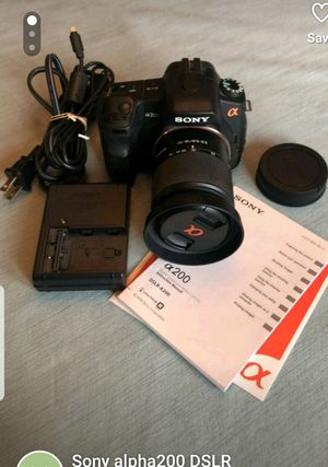 Sony Alpha 200 DSLR camera for Sale in Herndon, VA
