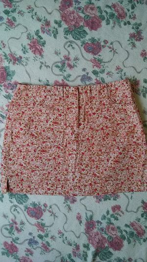 Express Floral Strech Jean Skirt for Sale in Tacoma, WA