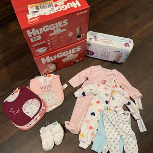Newborn Diapers/Clothes for Sale in Oregon City, OR
