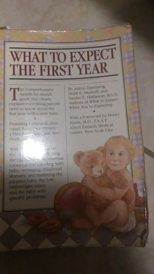 What to expect baby book for Sale in North Venice, FL