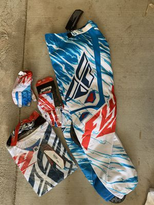 Motorcycle Gear Fly Racing Gear Set New for Sale in Norco, CA