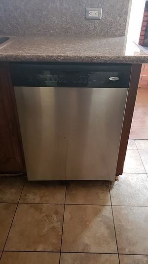 Whirlpool dishwasher stainless black for Sale in Hawthorne, CA