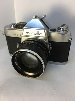 Minolta SR-1 film camera with auto rokkor 1:2 55m lens for Sale in North Brunswick Township, NJ