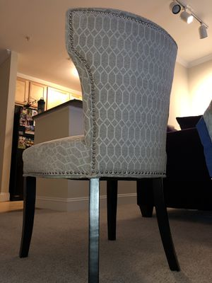 Cushioned chic chair for Sale in Manassas, VA