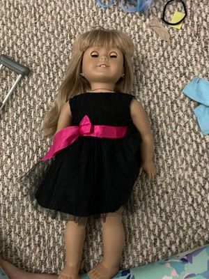 American girl doll and crutches for Sale in Annandale, VA
