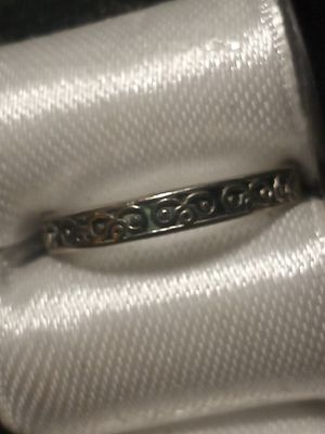 Thin etched ring for Sale in Akron, OH