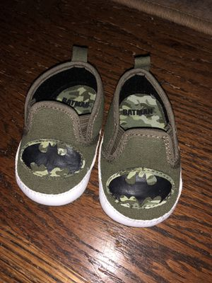 Batman Baby Crib Shoes for Sale in Greensboro, NC