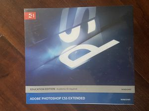 Adobe Photoshop Extended CS5 Win Educational for Sale in Beverly Hills, CA
