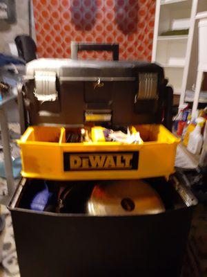 Dewalt tool box on wheels for Sale in Philadelphia, PA