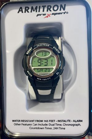 New Armitron Sport Women's 45/6975RED Chronograph Black Digital Watch for Sale in Charlotte, NC