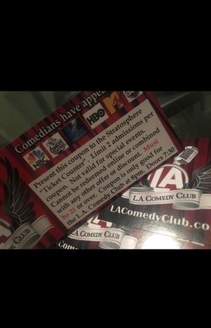 LA Comedy Club - Stratosphere for Sale in Las Vegas, NV