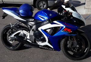 SELL SUZUKI GSX750R 2007 CLEAN TITLE, MINT CONDITION. for Sale in Las Vegas, NV