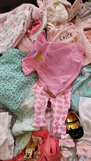 3-9 months baby clothes girl 50 pieces for Sale in Las Vegas, NV