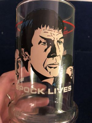 1984 vintage collectible Taco Bell Spock lives Star Trek III glass. 10.00. 212 North Main Street buda for Sale in Austin, TX
