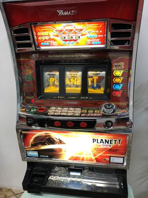 Rare Yamasa Planett 999 Slot Machine in Great Working Condition for Sale in Boynton Beach, FL