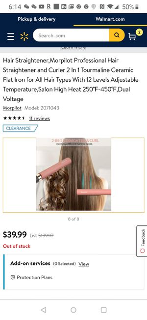 (new)Hair Straightener for Sale in Tampa, FL