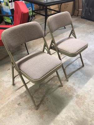 New Steel Folding Chairs Made in Taiwan for Sale in Norfolk, VA