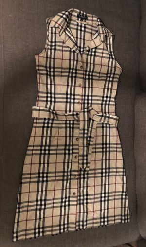 Authentic Classic Burberry London Dress - No Sleeve - Women's Size:2 or XS for Sale in Miami Shores, FL