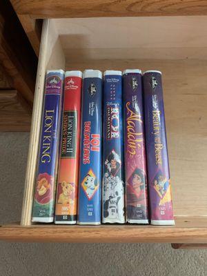 Original VHS Disney movies for Sale in Costa Mesa, CA