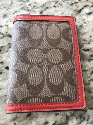 Coach Passport Holder for Sale in Houston, TX