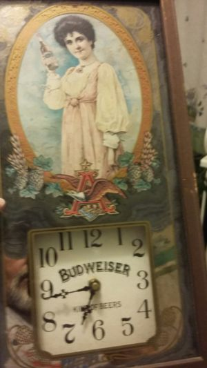 Bud wed wiser clock for Sale in Johnson City, TN