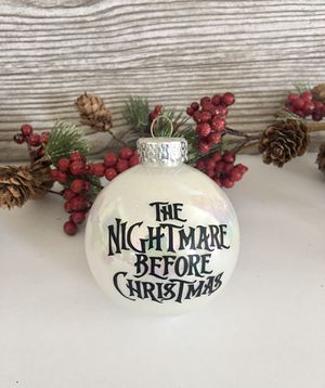 Christmas Ornaments - Nightmare Before Christmas for Sale in Irvine, CA
