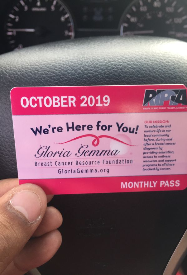 Monthly bus pass for OCTOBER
