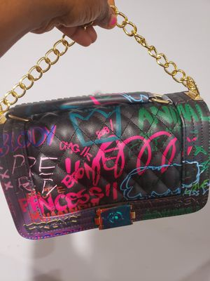 Graffiti leather handbags, ladies shoulder handbags all Brand new, negotiable for Sale in Frederick, MD