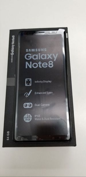 """Samsung Galaxy Note 8 64GB FACTORY UNLOCKED"""" New phone with warranty for Sale in Silver Spring, MD"""