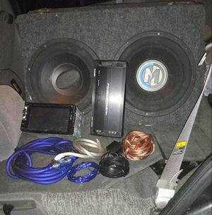 Deep bass car sound system. Works great. Priced to sell for Sale in Rocky Mount, VA