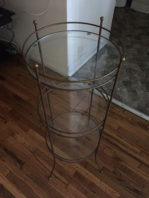 Glass Shelved Stand for Sale in Los Angeles, CA