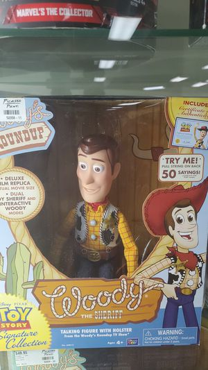 TOY STORY ( SIGNATURE COLLECTION) EACH PRICED SEPARATELY for Sale in Raleigh, NC