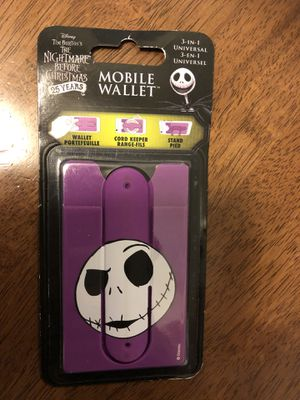 Nightmare Before Christmas mobile wallet for Sale in Artesia, CA