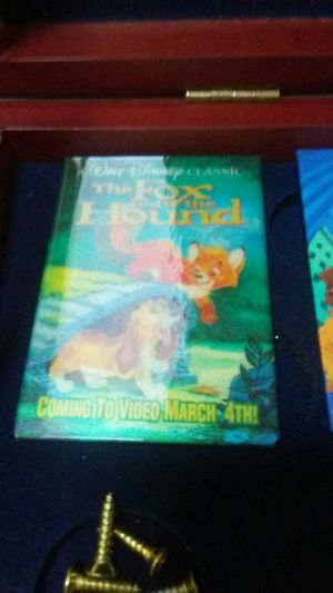 Disney movie employee pin release of The Fox and the Hound for Sale in Chesapeake, VA