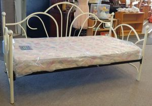 Vintage Twin Size Day Bed Mattress Not Included for Sale in Burlington, NC