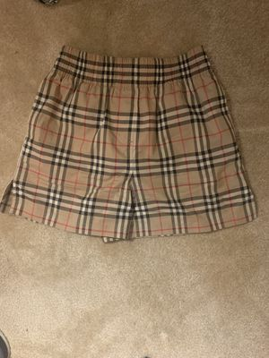 Burberry sports shorts classic color size M for Sale in Arlington, VA