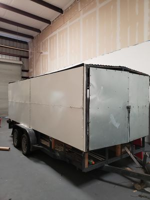 16 ft cargo trailer . All fore sides open up for easy access for Sale in Cypress, TX