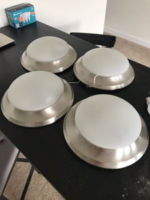 Overhead interior dome ceiling light fixture for Sale in Thornton, CO