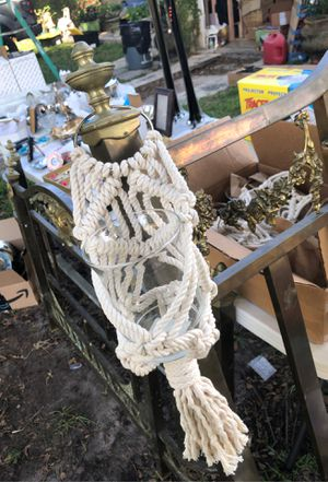 Macrame wall hanging planter/vase for Sale in Miami, FL