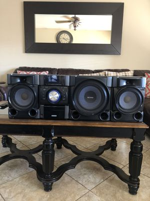 SONY HI-FI COMPONENT SYSTEM STEREO for Sale in Tolleson, AZ