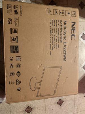 NEC Monitor, still in box for Sale in Palo Alto, CA